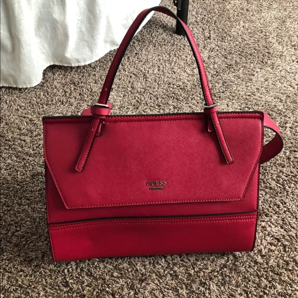 69b5a07af1 Guess Handbags - Guess Bag in Cherry Red